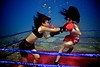 UW-ChineseBoxing 15 (steadichris) Tags: underwater models chinese scuba lingerie cebu boxing breathhold
