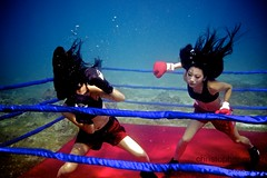 UW-ChineseBoxing 18 (steadichris) Tags: underwater models chinese scuba lingerie cebu boxing breathhold