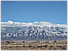 Snowy Sandias (Steve Herrera30) Tags: snow newmexico beauty clouds landscape scenic albuquerque hdr picnik sandiamountains riorancho canona560 herreraphotography