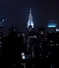 New York City (Surrealplaces) Tags: new york city newyorkcity urban newyork skyline night skyscraper centralpark manhattan chrysler gotham brookylnbridge