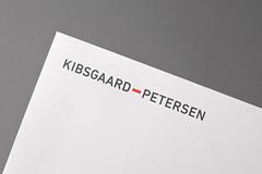 Kibsgaard 01 (Heydays Studio) Tags: red norway architecture graphicdesign blind identity architects branding emboss aalesund embossing pantone hyphen