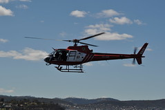 Aerospatiale AS-350BA Ecureuil VH-HRD (Owen65) Tags: hobart australasian commemoration aerospatiale ecureuil as350ba australasianantarcticexpeditioncommemoration vhhrd owen65 owentheworld