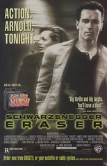 Eraser Pay Per View ad (1997) (Paxton Holley) Tags: vanessa vintage advertising technology view williams eraser arnold schwarzenegger ad cable advertisement pay movies per