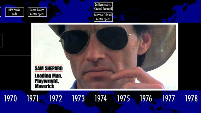SAM SHEPARD timeline