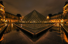 Louvre at night (1982Chris911 (Thank you 3.000.000 Times)) Tags: urban paris france reflection building water glass rain museum architecture modern night clouds canon mirror cityscape pyramid louvre palace rainy hdr highdynamicrange palaisdulouvre urbanphotography musedulouvre canoneos5d canonphotography hdrphotography parisphotography hdrpictures canoneos5dmarkii photosparis 5dmarkii parispictures 5dmark2 eos5dmarkii canon5dmarkiii krieglsteiner 5dmarkiii canoneos5dmark3 christiankrieglsteiner canon5dmark3 christiankrieglsteinerphotography