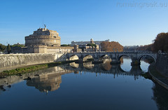 "Castel Sant'Angelo & Ponte Sant'Angelo • <a style=""font-size:0.8em;"" href=""http://www.flickr.com/photos/89679026@N00/6478200693/"" target=""_blank"">View on Flickr</a>"