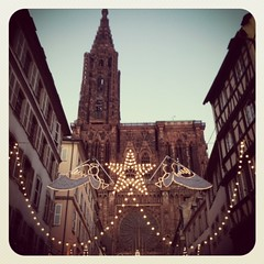 Cathdrale Notre-Dame de Strasbourg (Christine Amherd) Tags: xmas november france church mobile angel weihnachten creativity frankreich advent kirche weihnachtsmarkt notredame strasbourg cathdrale angels dome ine engel xmastime stern christmastime passionate weihnachtsbeleuchtung mypassion xmasmarket cathdralenotredamedestrasbourg strassbourt christinescreativityphotography christinesphotography