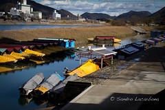 Gifu river (Sandro_Lacarbona) Tags: voyage trip travel river boat rivire bateau backpacker gifu japon sandro routard tourdumonde tetedechatcom lacarbona