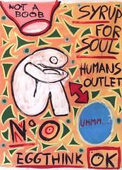 billboard of human n4 (divedintopaint) Tags: ferrara astratto quadri espressionismo dived informale neoprimitivismo