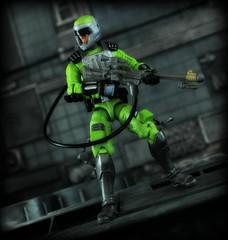 GI Joe 30th Anniversary - Sci-Fi (Ed Speir IV) Tags: trooper gijoe toy actionfigure anniversary military fine rifle joe elite figure scifi laser 30th seymour combat gi hasbro 30thanniversary 334 seymourfine