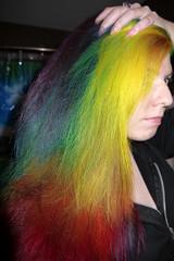 Layered Rainbow (rainbow-hair) Tags: hairdye manicpanic manicpanichothotpink manicpanicvampirered manicpanicpurplehaze manicpanicshockingblue manicpanicelectricbanana