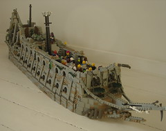Frozen WIP (sebeus) Tags: jack jones flying lego pirates sparrow caribbean davy kraken dutchman