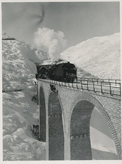 Favorittbilde #18. Ukas bilde / Photo of the week 51/2011 (Riksarkivet (National Archives of Norway)) Tags: bridge snow train iran tog sn bru lokomotiv