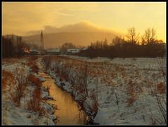 A view of Lubawka / Widok na Lubawkę (Rantes) Tags: winter landscape zima goldenhour sudety silesia śląsk krajobraz sudetes lowersilesia dolnyśląsk lubawka czarnuszka złotagodzina