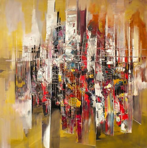 City Escape - Painting