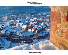 Kaysersberg (denismartin) Tags: winter snow france wine alsace neige vin vigne wineyard basrhin hautrhin kaysersberg denismartin