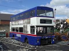 2746 at PVS (MCW1987) Tags: barnsley bus scrap yard breakers mcw metrobus mk2 2746 a746wvp west midlands travel twm wmt