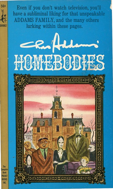 219 CHARLES ADDAMS Homebodies Pocket Books065