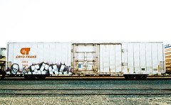 Ich (TheHarshTruthOfTheCameraEye) Tags: california train circle t graffiti yme trans northern ich freight ichabod circlet cyro benching cyrotrans