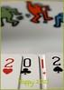 Happy New Year! - Auguri di Buon Anno! (In2ShФФT) Tags: macro bokeh samsungpro815 cardsplaying newyearwishes auguridibuonanno happy2012 buon2012