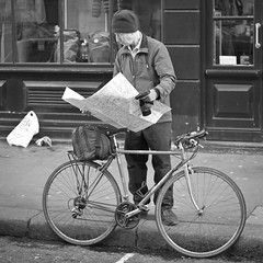 Navman (SPIngram) Tags: street city blackandwhite london classic bike bicycle 35mm mono flickr candid explore frontpage 500x500 explored simoningram d300s spingram streetphotographycandidstreetportrait