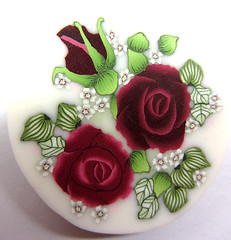 Polymer clay roses cane (tamishvat) Tags: cane israel polymerclay fimo clay canes tami polymer millefiore iloveyourart katoclay shvat polymerclaycanes eyecandyart tamishvat loveartflowers kunstplatzlinternational