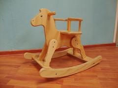 Caballito pequeo sin pintar (JuegaMadera) Tags: wood horse caballo madera juegos infantil mobiliario juega jueguete juegamadera jueguetesmadera