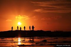 fishing sunrise (Jong Soo(Peter) Lee) Tags: sea seascape silhouette sunrise fishing sydney australia sydneysunrise coalcliff micarttttworldphotographyawards micartttt blinkagain michaelchee