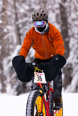 Frosty Bottom Biker (anwrak) Tags: park winter snow cold sports bike alaska nikon bottom north frosty anchorage d200 far bicentennial athelete farnorthbicentennialpark contestent frostybottom