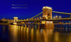Chain Bridge - Budapest Hungary (Pat Kavanagh) Tags: germany reflexions challenge hdr klausherrmann picstoplaywith
