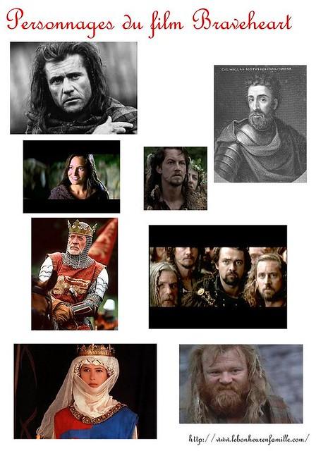 AAAAAAAAAAAAAAfiches personnages Braveheart