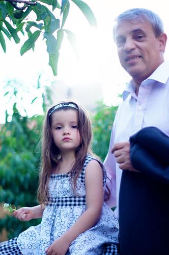 La niña y su padre