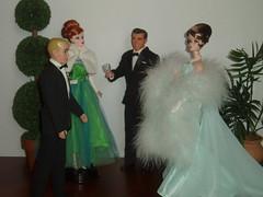 Good Evening Victoria, is Betty coming soon? (Flava Sweet) Tags: vintage doll ken barbie tuxedo desi eveninggown gala diorama seniorprom madmen silkstone summermagic bettydraper joanholloway eveningsplendour flavasweet