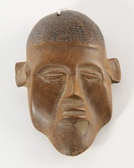 29. Small Carved Wood African Bust