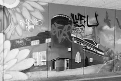 Amsterdam Westerpark Graffiti (SkyBlue Photography Pro) Tags: travel bw white black west holland nature amsterdam canon graffiti grafitti nederland 7d zwart wit westergasfabriek westerpark westergas