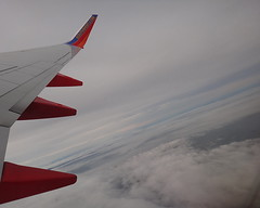 Southwest Airlines Boeing 737 bound for Las Vegas () Tags: california ca vacation sky holiday southwest clouds plane airplane fly inflight aircraft altitude nye flight wing jet overcast aerial windowview boeing winglet happyholidays merrychristmas rtw aereo vacanze avion happynewyear wingtip kalifornien roundtheworld californie hny globetrotter airplanewing  areo jetwing rightturn worldtraveler      californi ario    happybelatednewyear    12312011