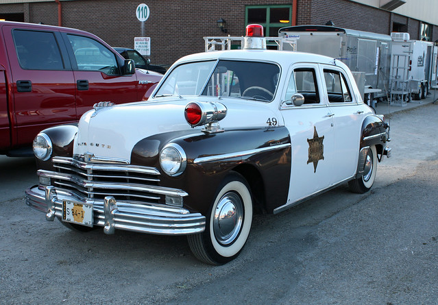 1949 Plymouth Special Deluxe 4-Door Sedan (Second Series) Police Cruiser (3 of 6)