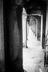 Arcade in Angkor Wat