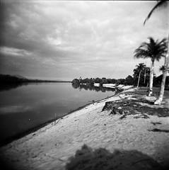 Terengganu : The River of Kg Mangkuk (W  M Soo) Tags: malaysia kodaktmax400 terengganu holga120gn setiu kampungmangkuk