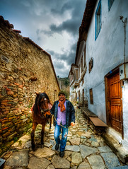 Sirince, Turkey (Nejdet Duzen) Tags: street trip travel horse turkey village izmir seluk ky sokak turkei seyahat irince saariysqualitypictures mygearandme