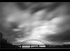 Heavy Skies..... (Digital Diary........) Tags: longexposure blackandwhite bw movement mood le runcorn widnes goodlight runcornbridge weldingglass