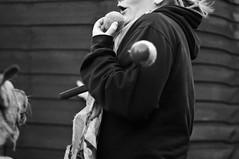 cody and megan (Kayleigh McCallum) Tags: uk boy red people dog pets cute art nature girl animal puppy photography scotland blackwhite nikon labrador megan cody mammals 2011 foxredlabrador
