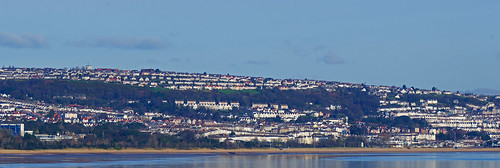 Swansea view from mumbles