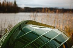 Lake Saimaa - Boat 1 (I.S.S) Tags: autumn sky lake fall water clouds suomi finland boat syksy saimaa rowingboat summercabin nikond90 etelkarjala southkarelia ginordicjan12