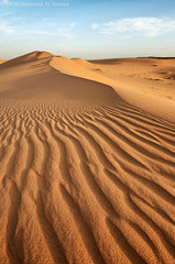 Golden lines ||   (M0hammed ..) Tags: sand waves dunes sands saudiarabia qassim     goldenlines     d7000 nikond7000162mpdxformat tokina111628atxdxlens