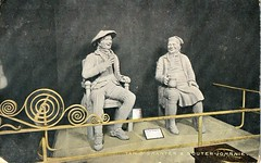BUR.099 Tam O' Shanter and Souter Johnnie (Dumfries Museum) Tags: southwest west history robert robin statue stone scotland poetry poem 21 song postcard south january 21st july scottish historic burns scot national 25 poet 25th railing johnnie bard songs tam scots verse dumfries galloway souter rab dialect nith rabbie 1759 burnes shanter 1796 nithsdale