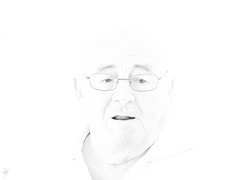 Mr. Moran ( High Keying my friends -17- ) (Paco CT) Tags: blackandwhite bw man blancoynegro spain retrato bn protrait highkey technique esp hombre tarragona flicker 2012 clavealta labisbaldelpenedes pacoct