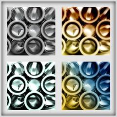 Industriestrukturen - Rundungen (Frau_Doktor) Tags: collage fineart digiart architektur industrie nahaufnahme farben strukturen fotobearbeitung digitalphotoart digitalebearbeitung fraudr