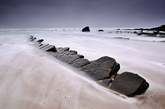 (iban pagalday) Tags: mar nikon playa 09 reverse bizkaia euskalherria 2012 kosta cantabrico hondartza itsasoa barrika kantauri gnd nd8 d300s