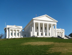 Virginia Statehouse, Richmond, VA. (r.w.dawson) Tags: virginia landmark confederate civilwar va 2010 statehouse civilwarsite